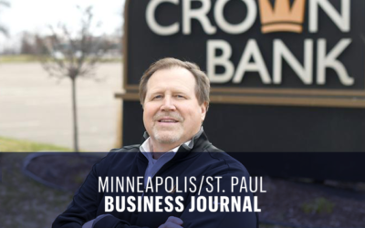 Crown Bank President Jeff Wessels discusses how community banks stepped in to handle the influx of smaller businesses needing PPP loans